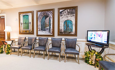waiting room at Reich Dental Center – Roswell in Roswell, GA
